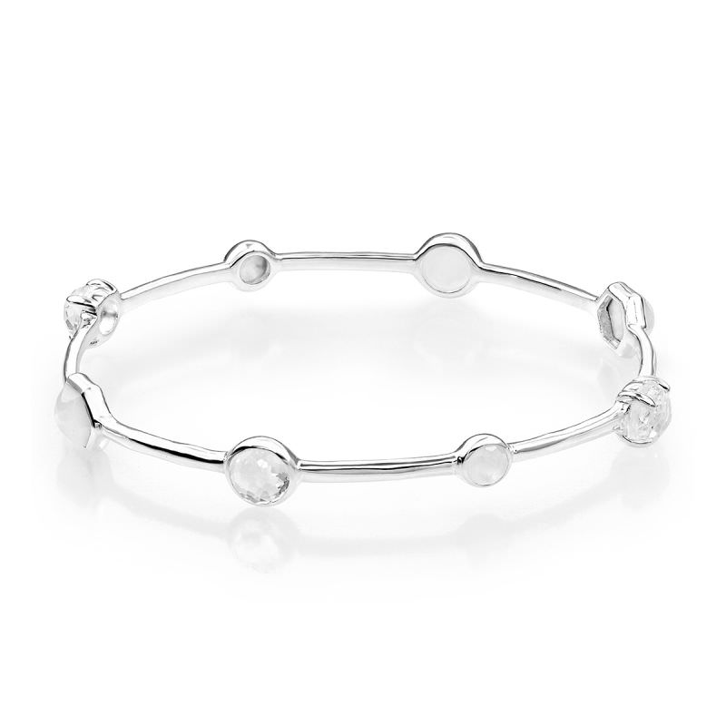 Rock Candy Bangle in Sterling Silver Image 1