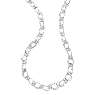 Prosper Chain Necklace in Sterling Silver Image 1