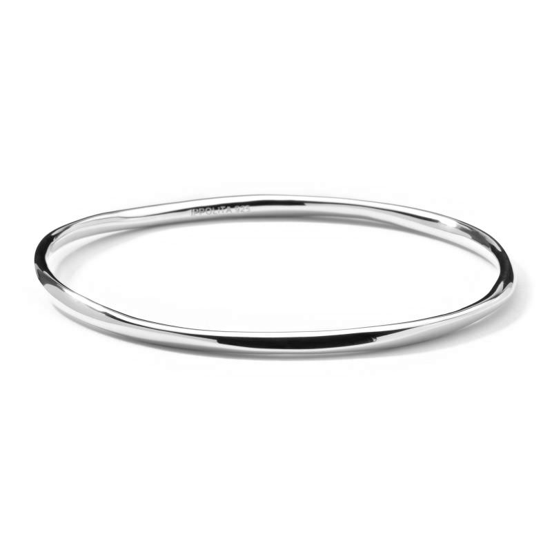 Squiggle Bangle in Sterling Silver Image 1
