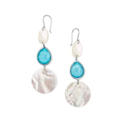Graduated Drop Earrings Image 1