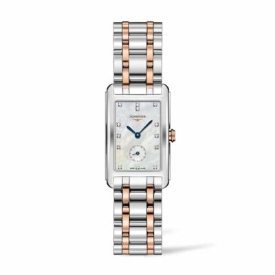 Longines DolceVita DolceVita 23MM Stainless Steel and 18K Gold Square Watch Image 1