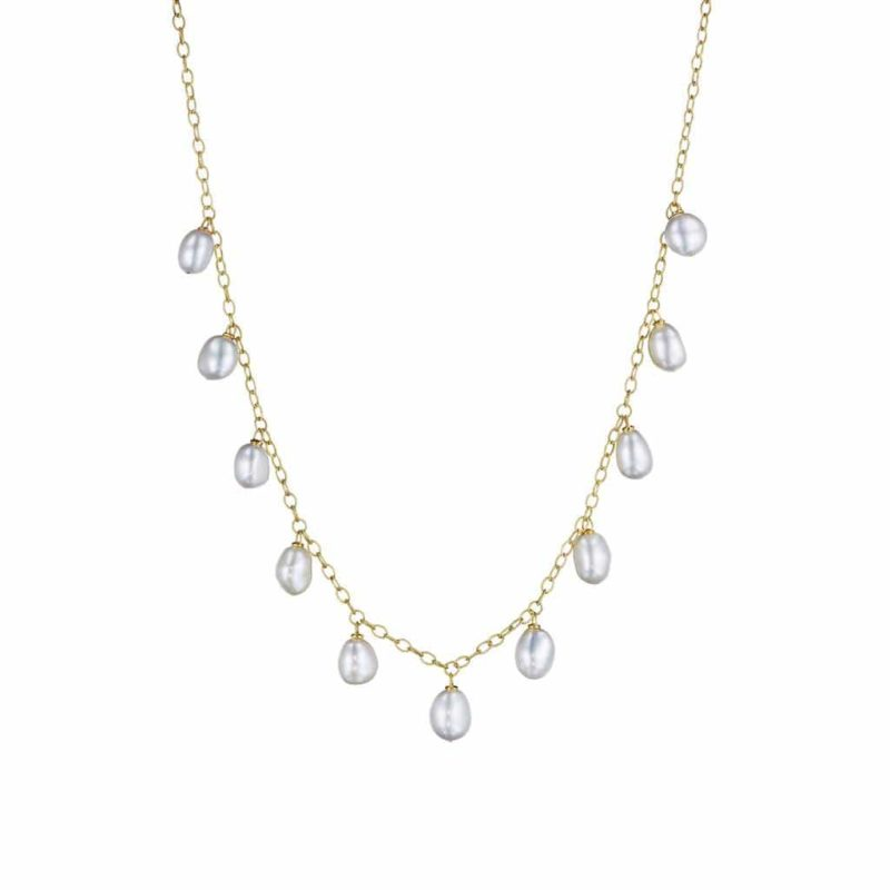 Penny Preville Pearl Dangling Pearl Necklace Image 1
