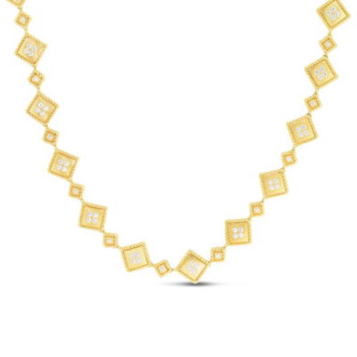 Roberto Coin PALAZZO DUCALE Palazzo Satin Collar Necklace Image 1