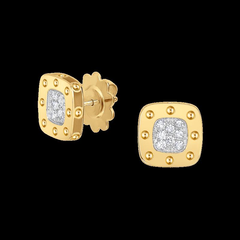 Roberto Coin Pois Moi Coin Classics Stud Earrings Image 1