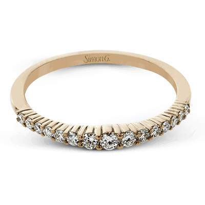 Simon G Fashion Collection Rose Gold Stackable Band Image 1