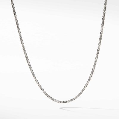 David Yurman Chain Necklace with Gold Image 1