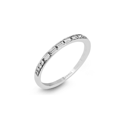 Simon G Mix Shape Wedding Band Image 1
