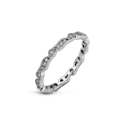 Simon G Contemporary Stackable Band Image 1