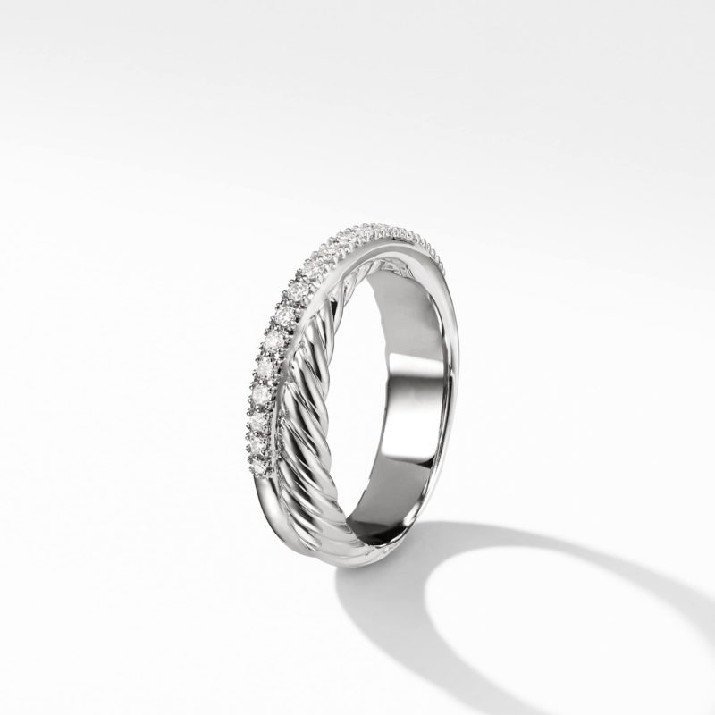 David Yurman The Crossover Collection® Ring with Diamonds Image 3