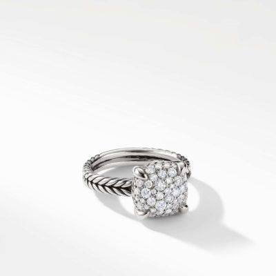 David Yurman Chatelaine Ring with Diamonds Image 1
