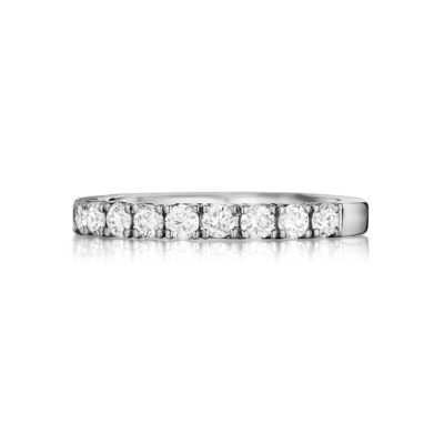 Henri Daussi Classic Diamond Wedding Band Image 1