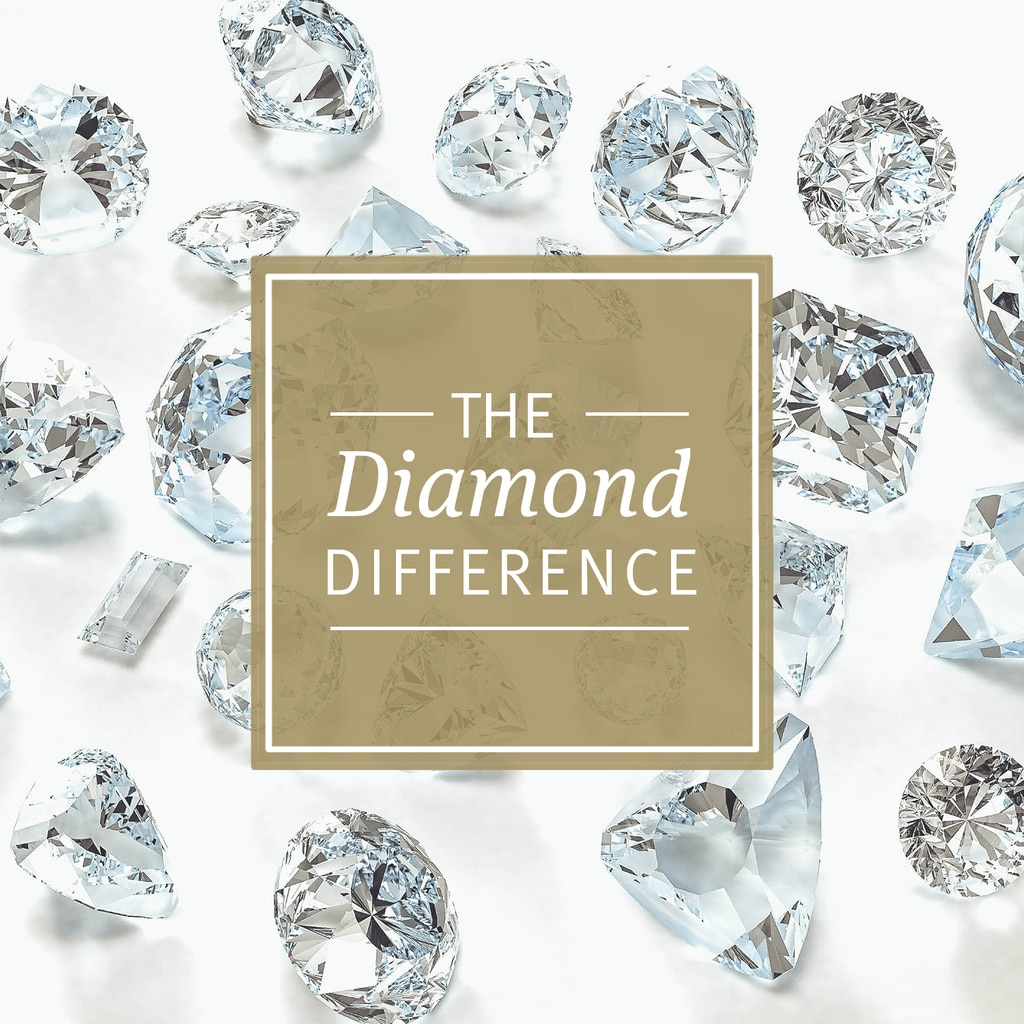 The Diamond Difference: Diamond Ear Studs