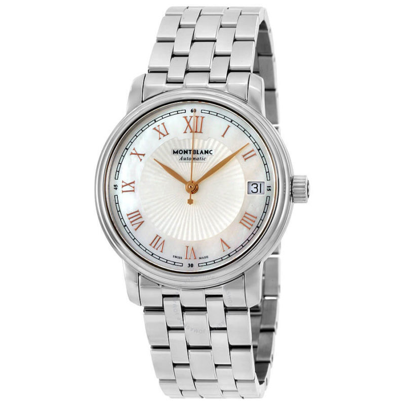 Montblanc Tradition Tradition Automatic Mother of Pearl Ladies Watch