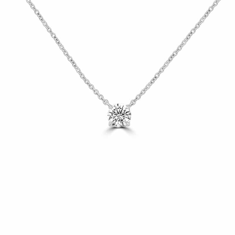 Forevermark Round Solitaire Pendant Image 1