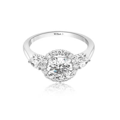 GRAVITY by BC Clark Romantic Engagement Ring Image 1