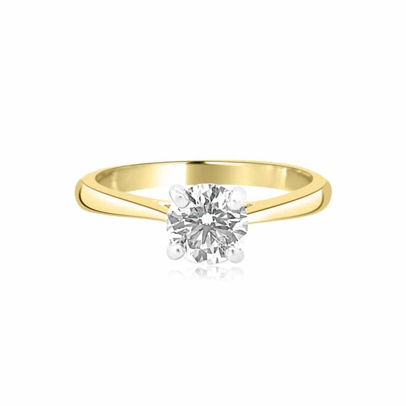 GRAVITY by BC Clark Classic Diamond Solitaire Image 1