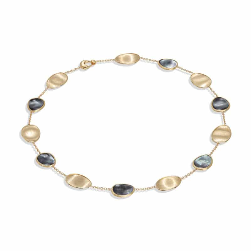 Marco Bicego Lunaria Black Mother of Pearl Short Necklace