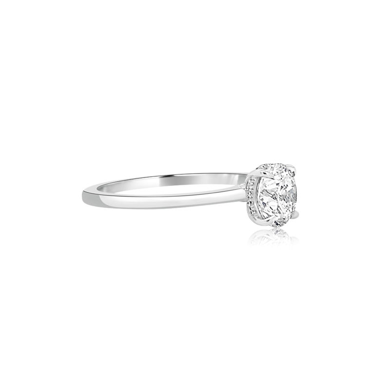 Micaela by Forevermark Simply Solitaire Engagement Ring Image 2