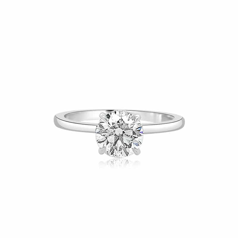 Micaela by Forevermark Simply Solitaire Engagement Ring Image 1