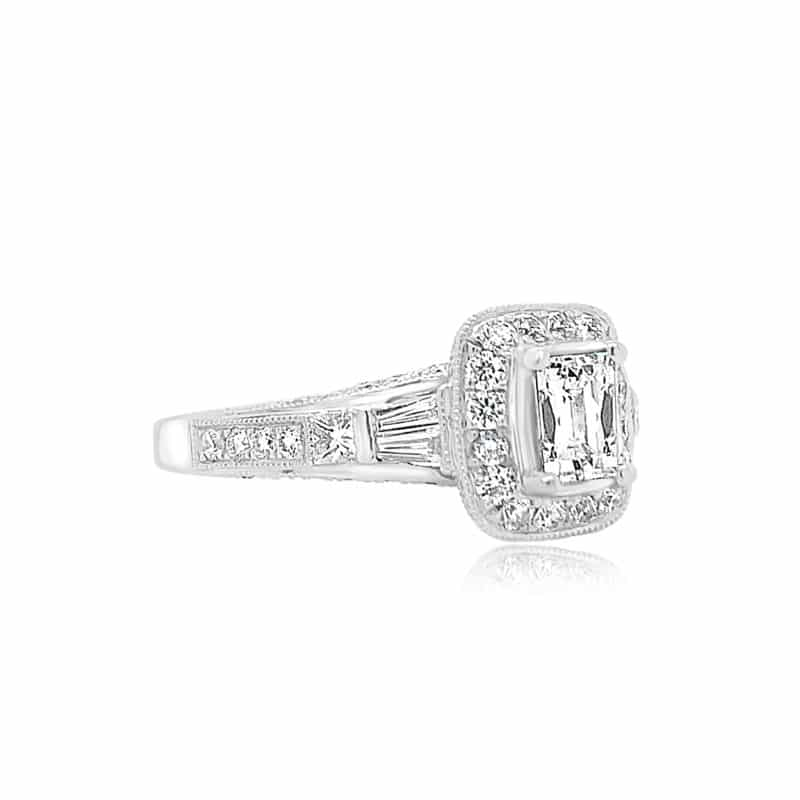 Tycoon Tycoon Cut Engagement Ring Image 2