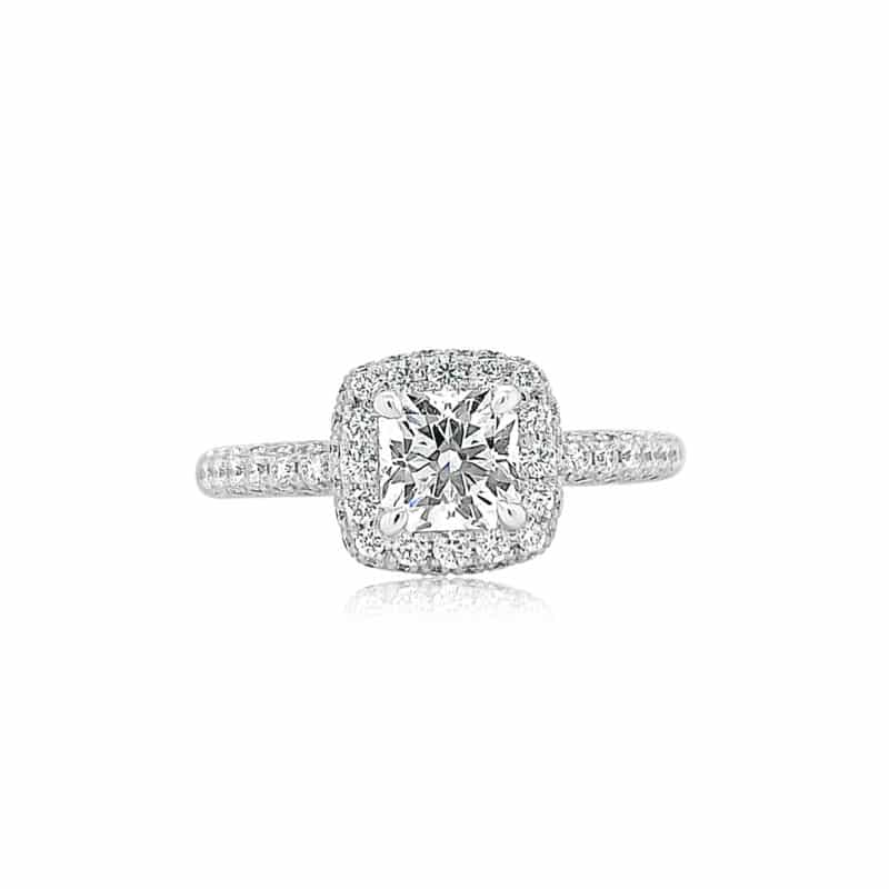Hearts on Fire Engagement Rings Dream Cut Classic Engagement Ring Image 1