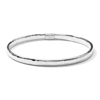 Ippolita Classico Sterling Silver Classico Flat Hammered Bangle Image 1