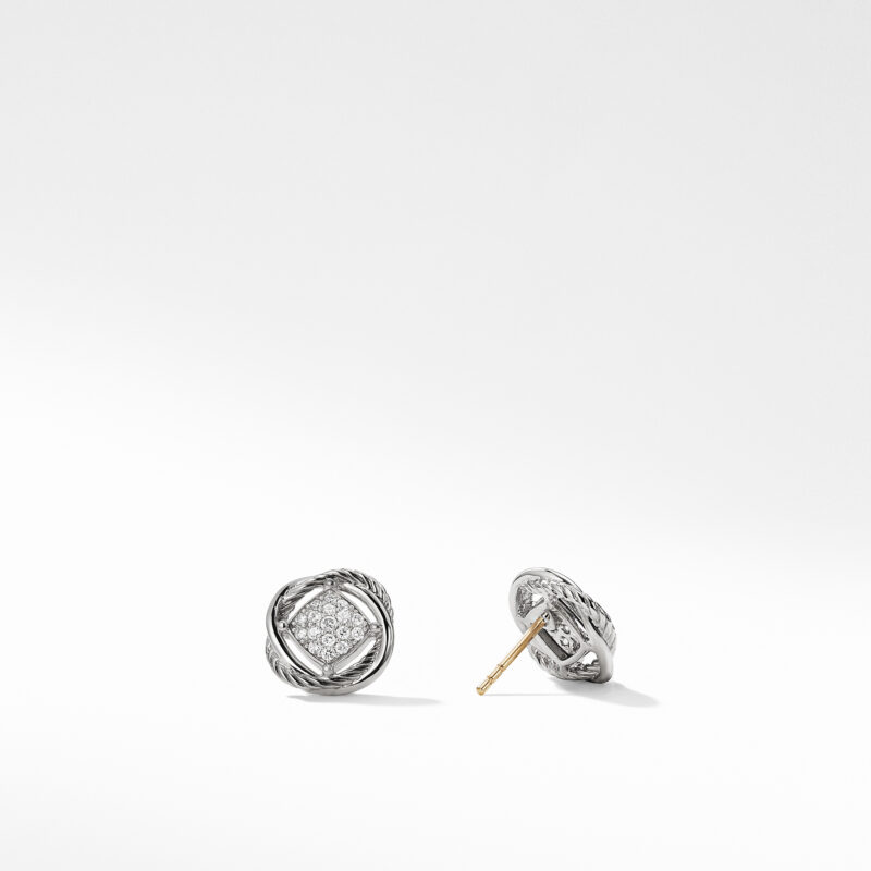 David Yurman The Crossover Collection® Earrings with Diamonds Image 2