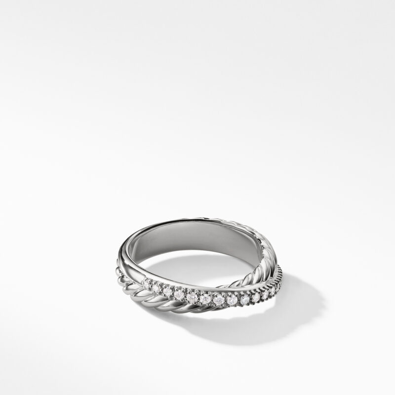 David Yurman The Crossover Collection® Ring with Diamonds Image 1