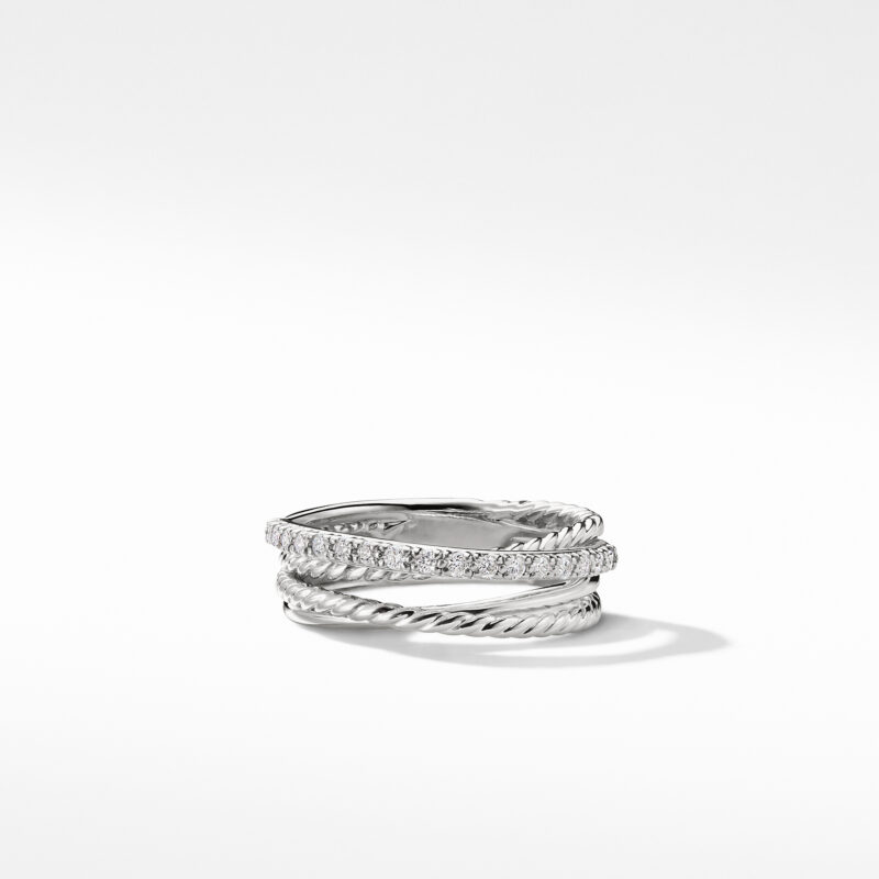 David Yurman The Crossover Collection® Ring with Diamonds Image 2