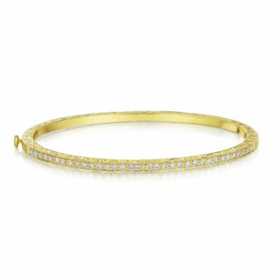Penny Preville Thin Bangle Image 1