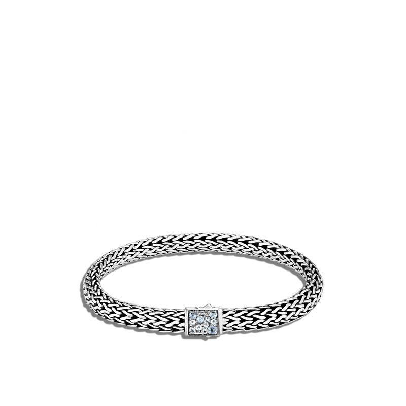 John Hardy Aquamarine Reversible Bracelet Image 1