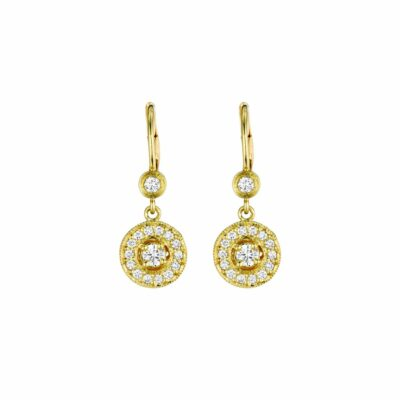 Penny Preville Classic Round Drop Earrings Image 1