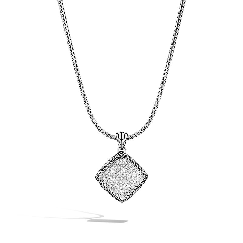 John Hardy Classic Chain Pendant Necklace with Diamonds Image 1